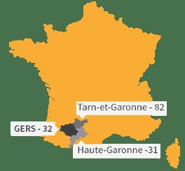 Situation géographique en France